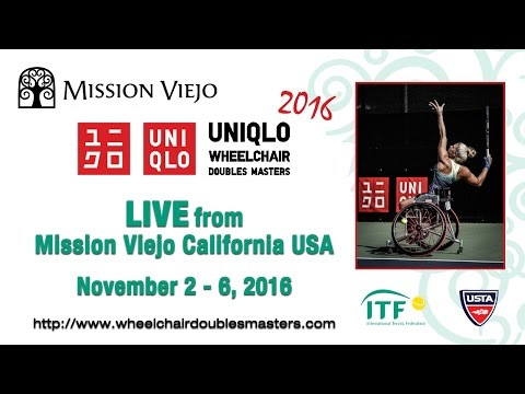 UNIQLO Wheelchair Doubles Masters Finals - Nov. 6 AM Session