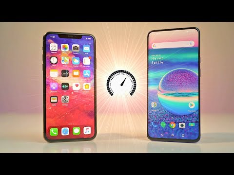 IPhone 11 Pro Max Vs OnePlus 7 Pro - Speed Test! *WOW*