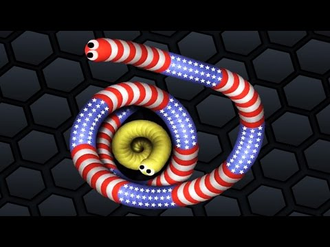 Slither.io ✔ TINY SNAKE VS BIG SNAKES | Games For Kids