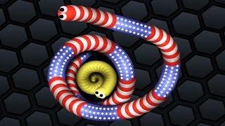 Slither.io ✔ TINY SNAKE VS BIG SNAKES | Games For Kids