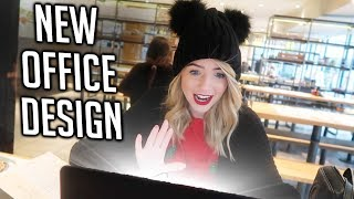 REACTING TO NEW OFFICE DESIGN!