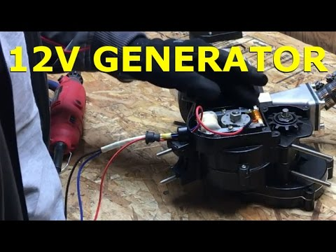 80cc 2-Stroke Motorized Bike Build EP8 - Generator Installation