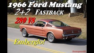 1966 Ford Mustang Fastback 4K UHD video tour & test drive