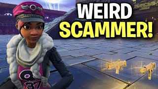 I ran into the most toxic kid ever.... 🤣 (Scammer Get Scammed) Fortnite Save The World