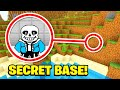 Minecraft: I Found SANS SECRET BASE! (Ps3/Xbox360/PS4/XboxOne/PE/MCPE)