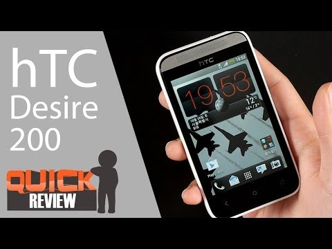 [EN] hTC Desire 200 Quick Review