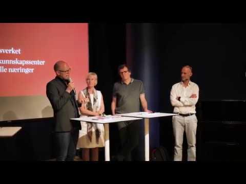 Paneldebatt om operaens betydning for byutviklingen i Oslo
