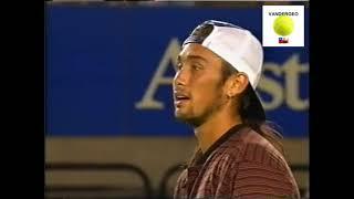 Marcelo Ríos vs Patrick Rafter - AO 1996 R128 HIghlights