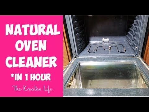 Natural Oven Cleaner (In 1 Hour)