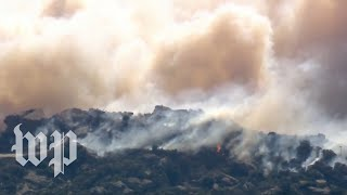 Officials provide an update on Southern California wildfires