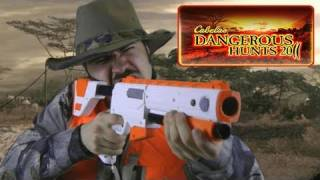 Repeat youtube video Cabelas Dangerous Hunts 2011 Angry Review