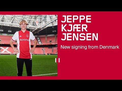 Kjaer Jensen: 'I'm so PROUD to be here'