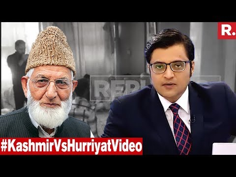 Most Powerful Message From Kashmir To Hurriyat | The Debate With Arnab Goswami