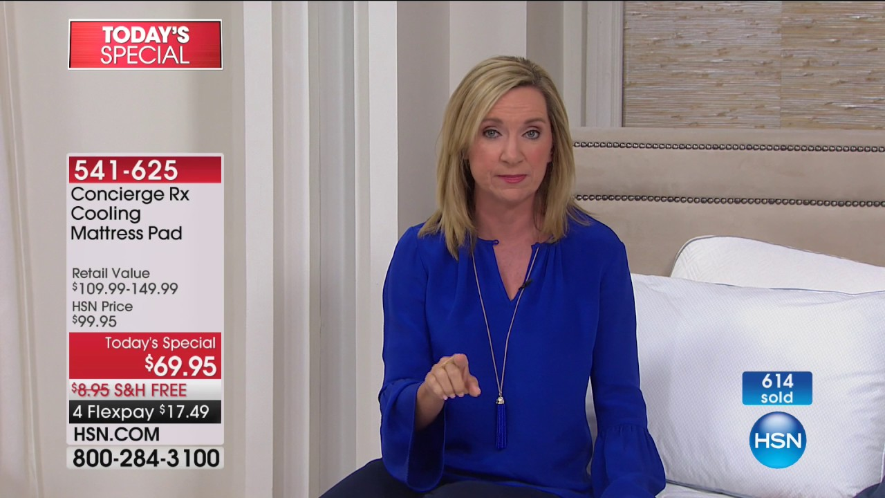 hsn | concierge collection rx bedding 08.06.2017 - 12 am - youtube
