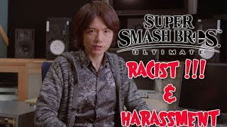 Smash Ultimate Demo | Sakurai is Tired of Your Harassment | Smash Update To Remove Racist Reference