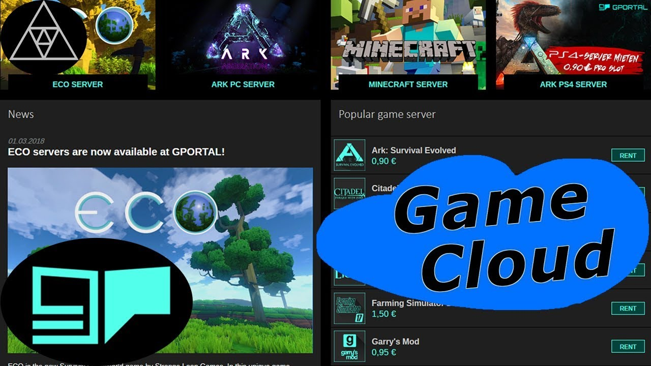 G-Portal Gamecloud ▻ How to setup your own Gameserver