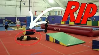 INSANE OBSTACLE COURSE AT SUPER TRAMPOLINE PARK!!!