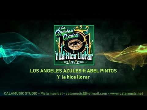 Los Angeles Azules Ft Abel Pintos - Y La Hice Llorar | Pista Musical Karaoke DEMOSTRACION