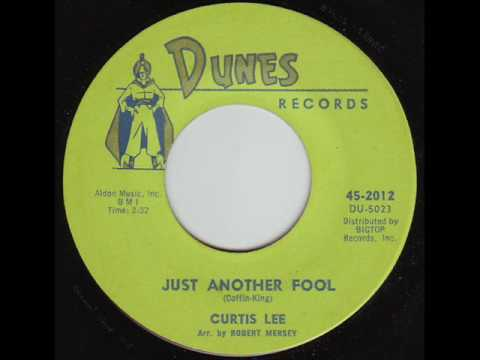 Just Another Fool  Curtis Lee 1962 45rpm