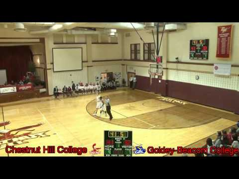 Men's Basketball - Chestnut Hill College vs Goldey-Beacom College! - 1/26/2016