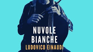 LUDOVICO EINAUDI - Nuvole Bianche for cello, piano, harp and string (COVER)