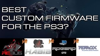 Best Custom Firmware for PS3 - rebug vs habib vs ferrox vs rogero