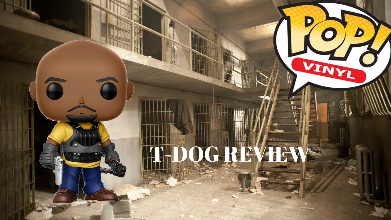 Funko Pop Vinyl The Walking Dead T Dog Review Youtube