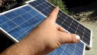 видео инвертор, модуль, солнечных, батарей