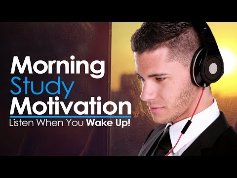 MORNING STUDY MOTIVATION – WAKE UP AND STUDY HARD! Best Motivational Video for Success & Study