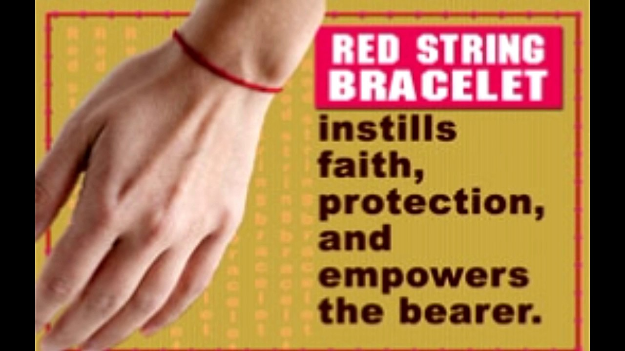 90bff101802fa This Article Unearths the Meaning of Red String Bracelet - YouTube