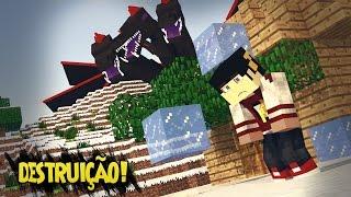 Minecraft: A Serie 2 - ESTÃO DESTRUINDO O SERVER! ‹ 101 / AMENIC ›