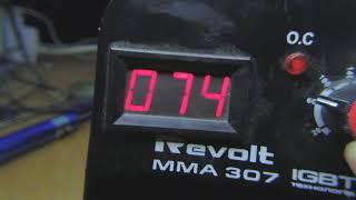 Ремонт Revolt MMA-307. Поганно регулює ...