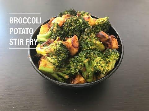 Broccoli Potato Stir Fry | Broccoli Stir Fry | Broccoli Recipes | Side Dish For Chapathi And Roti