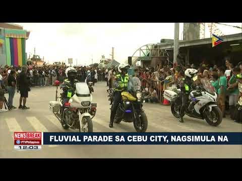 NEWS BREAK: Fluvial parade sa Cebu City, nagsimula na