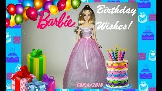 barbie birthday wishes 2017/2018 doll review revision español