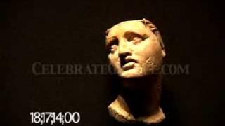 0330 Ivory carving bust of Alexander the Great