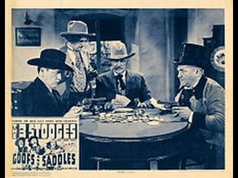 The Three Stooges - Goofs and Saddles (1937)