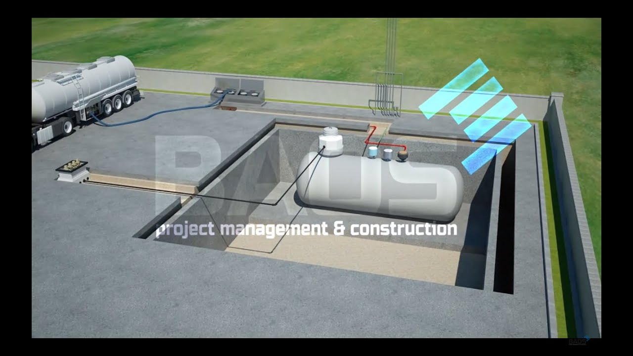 Download How to make a gas station ?  - How it works? - 3D Animation - All equipment used in petrol station