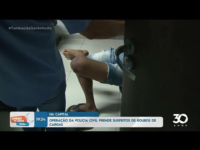 Operação da polícia  realiza prisão de jovem com 2 kg de cocaína em Bayeux -  Tambaú da Gente Noite