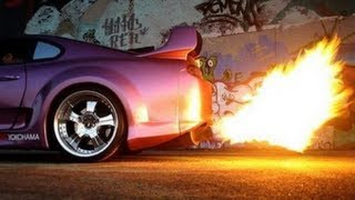 Supra Backfire and Burnout compilation