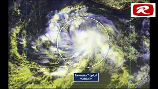 ¡MUCHO CUIDADO!...Tormenta tropical Sergio se ubica a 620 kilómetros de Acapulco