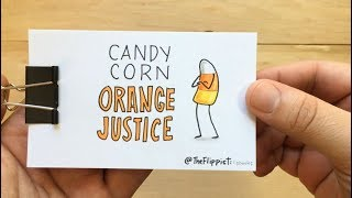 Candy Corn ORANGE JUSTICE : Fortnite Dance Flipbook