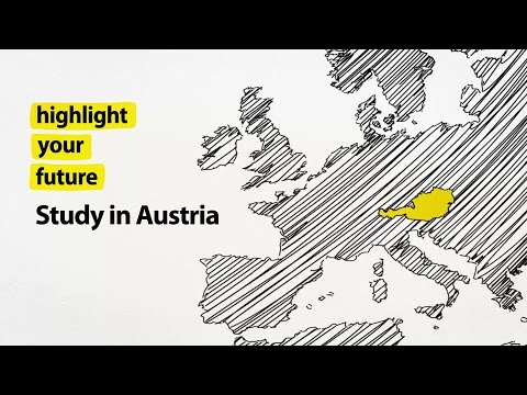 Highlight your Future. Study in Austria. Powered by OeAD