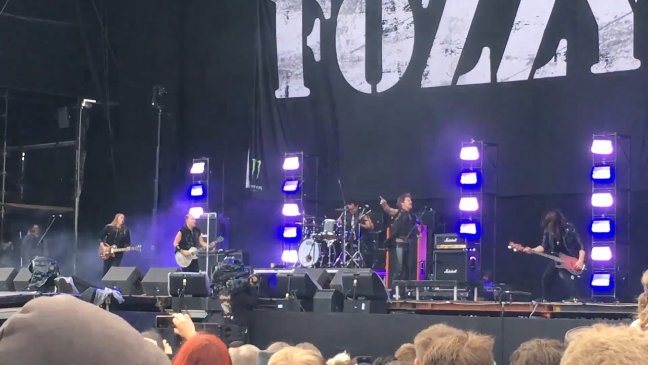 Fozzy - Download Festival (Donington) 2017 - The Main Stage - Sun 11th June  2017