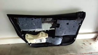 2014-2018 Toyota Corolla Plastic Interior Door Panel Removed To Upgrade OEM Speaker