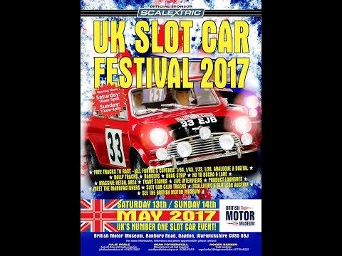 Gaydon Slot Car Festival at the British Motor Museum 2017