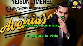 KARAOKE - YEISON JIMENEZ - AVENTURERO (SYNC BY DJ MAURY)