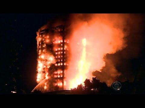 Thumbnail: High-rise fire in London kills at least 12, many missing