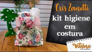 Aprenda a Fazer Kit Higiene em Costura