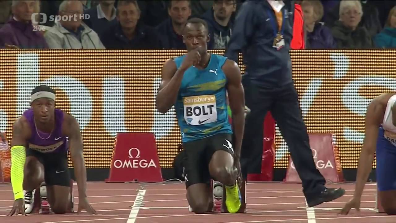 233 Usain Bolt wins 100m final London 2015 FULL HD - YouTube